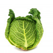 Savoy cabbage isolated — Stock Photo #35736481