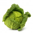Savoy cabbage isolated — Stock Photo #35736559