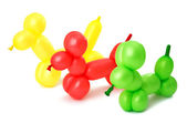 Toy of balloons isolated — Stock Photo