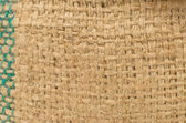 A sackcloth textured background, macro — Stock Photo