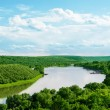 dniester river — Stock Photo