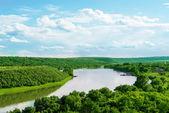 Река Днестр — Стоковое фото