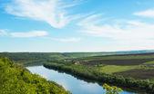 River in spring — Stock Photo