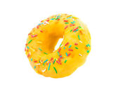 Donut with glaze — Stock Photo