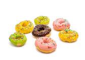 Donuts glaze — Stock Photo