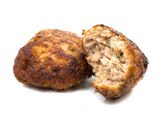 Fried pork cutlets — Stock Photo