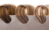 Locks of hair — Stock Photo