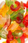 Alphabet jelly candies — Stock Photo