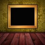 Dark yellow vintage room — Stock Photo #1640429