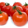 Red tomatoes isolated on white — Stock Photo #2771454