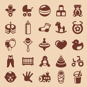 Vector design elements for children and kids — Stock Vector