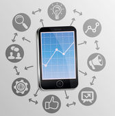 Conceito de marketing de internet — Vetorial Stock