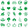 Stock Vector: Vector ecology signs and icons