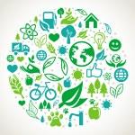 Vector ecology concept — Stock Vector