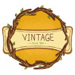 Vector vintage frame — Stock Vector #24348913