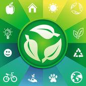 Vector recycle concept — Stock Vector