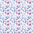 Watercolour seamless pattern - abstract background — Stock Photo