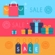 Vector sale concept in flat style — Stock Vector