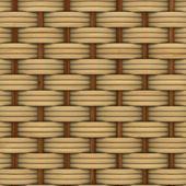 抽象装饰木制纹理的篮子编织。3d 图像 — 图库照片