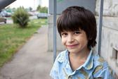 Smiling boy — Stock Photo