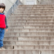 Boy on the stairs — Stock Photo #15611865