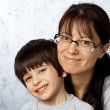 Happy mother and son — Stock Photo #18365255