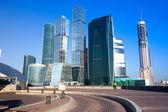 Panorama moscow city, rusya federasyonu — Stok fotoğraf