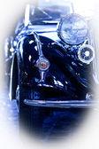 Carro retrô 30s — Fotografia Stock