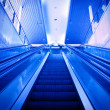 Escalator up - Stockfoto