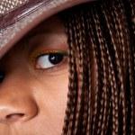 Black woman portrait — Stock Photo #21837555