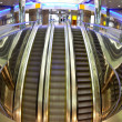 Moving escalators - Photo