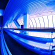 Stock Photo: Hall with moving walkways