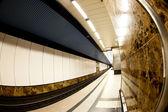Interior of a metro station — Stock Photo