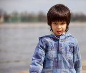 Malý chlapec — Stock fotografie