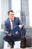 Successful businessman — Stock Photo