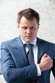 Businessman vows — Stock Photo