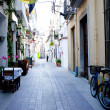 Old Spanish street — Stock Photo
