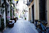 Old Spanish street — Stock Photo