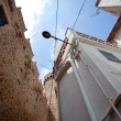 Stock Photo: Architecture of town Tossde Mar, Spain