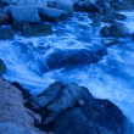 Waves on coastal rocks — Stock Photo #29811391