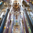 Stock Photo: LSagradFamilia, interior