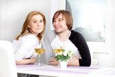 Lyckliga paret — Stockfoto