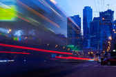 Moscow - May.22. Moscow city night landscape — Stock Photo