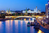 Russia-01.06.2014,  night view of Kremlin, Moscow — Stock Photo
