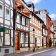 Old street in Hildesheim — Stock Photo