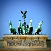 Puerta de brandenburgo — Foto de Stock