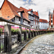 Street in Quedlinburg  — Stock Photo