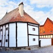 The oldest timber framing house - Stock Photo