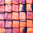 Old red tile — Foto Stock