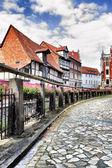 Street in Quedlinburg — Stock Photo